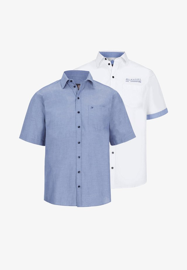 EVIN 2 PACK - Shirt - blue