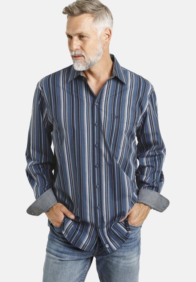 KELBY - Shirt - blau gestreift