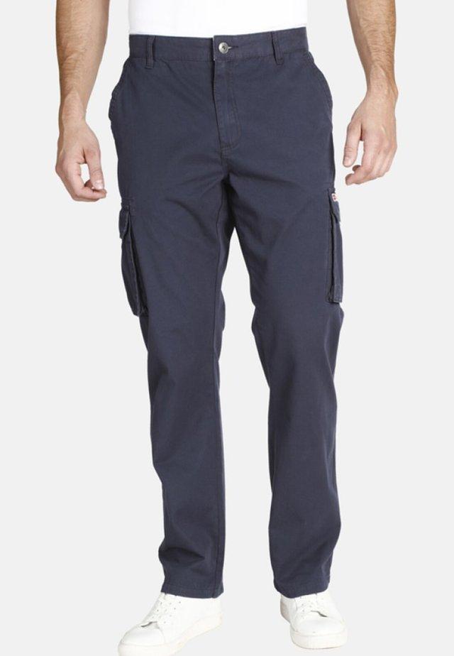 STEEN - Pantalon cargo - dark blue