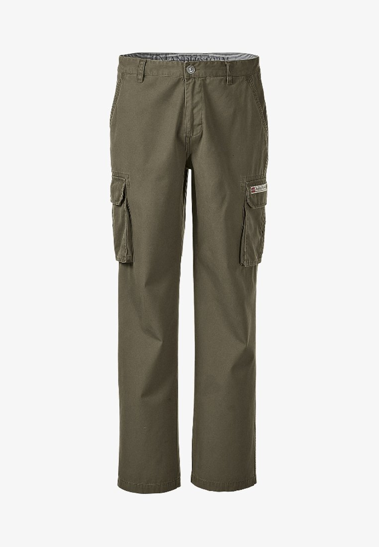 Jan Vanderstorm - STEEN - Cargo trousers - olive