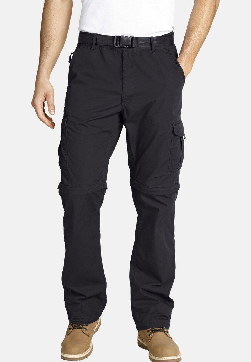 Jan Vanderstorm - JANNIS - Cargo trousers - black