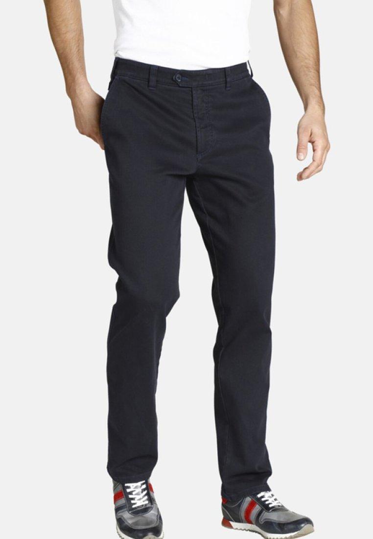 Jan Vanderstorm - MAWENS - Trousers - dark blue