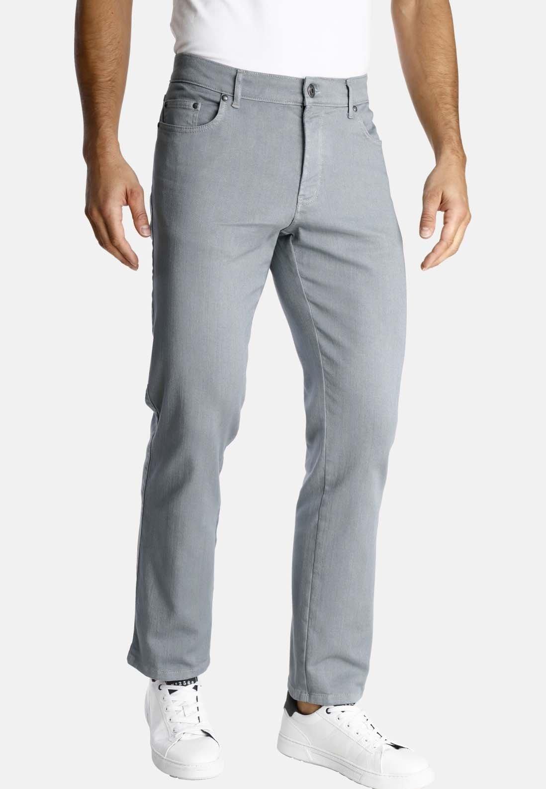 Jan Vanderstorm GUNNAR Straight leg jeans light brown