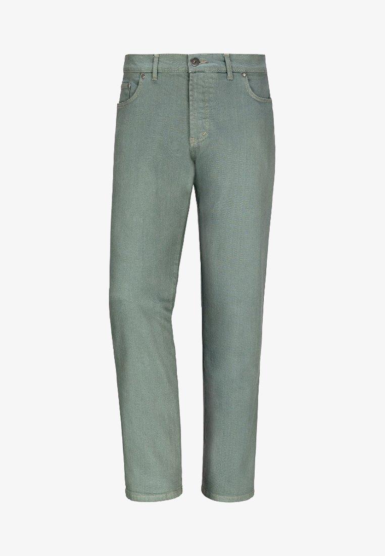 Jan Vanderstorm - GUNNAR - Straight leg jeans - green