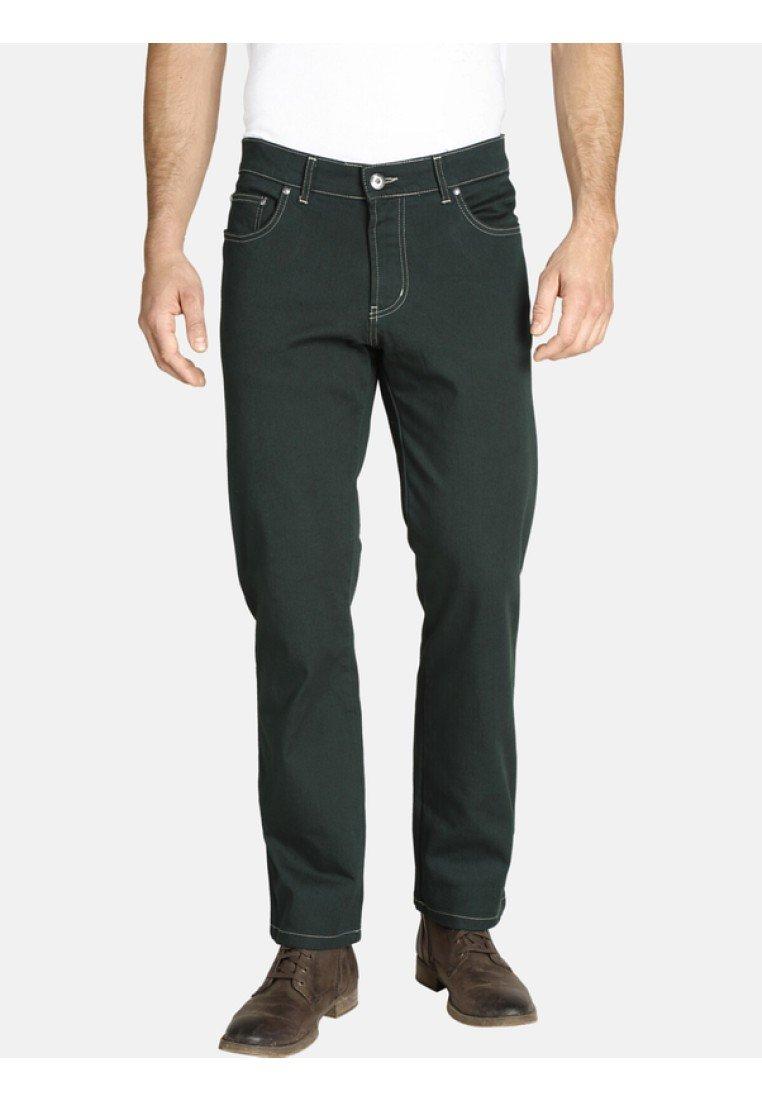 Jan Vanderstorm - GUNNAR - Jeans Straight Leg - dark green
