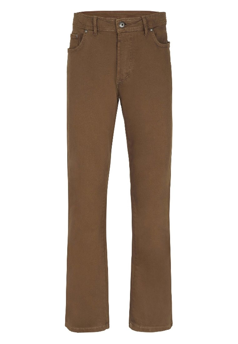 Bruine Straight leg jeans heren online kopen   ZALANDO