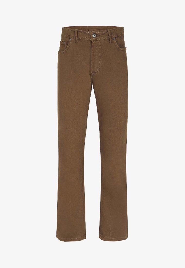 Jan Vanderstorm - GUNNAR - Straight leg jeans - brown