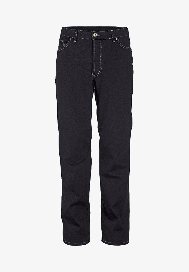 Jan Vanderstorm - GUNNAR - Straight leg jeans - black