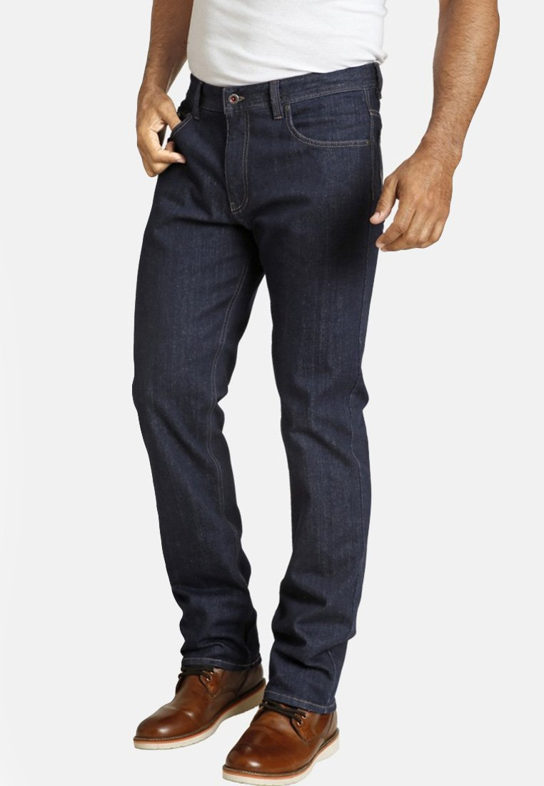 Jan Vanderstorm - ALBERG - Jeans Straight Leg - dark blue