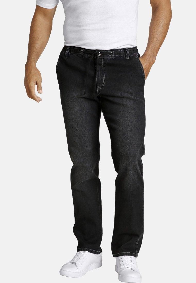Jan Vanderstorm - VERTTI - Straight leg jeans - black