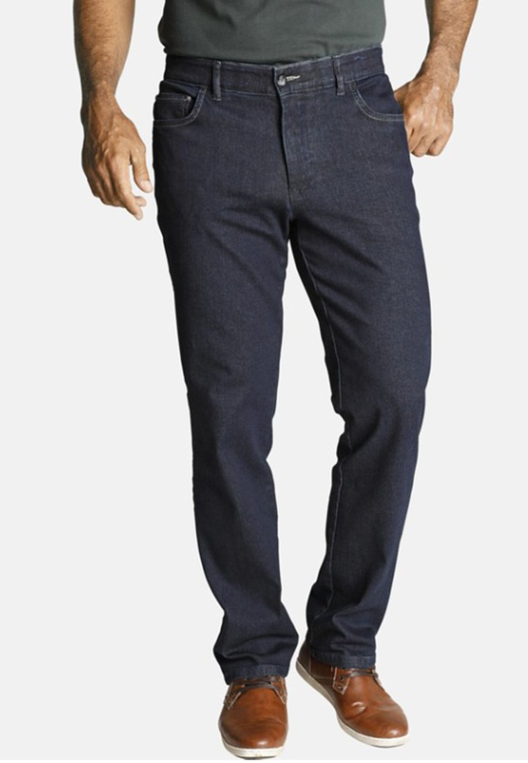 Jan Vanderstorm - SALAMON - Straight leg jeans - dark blue