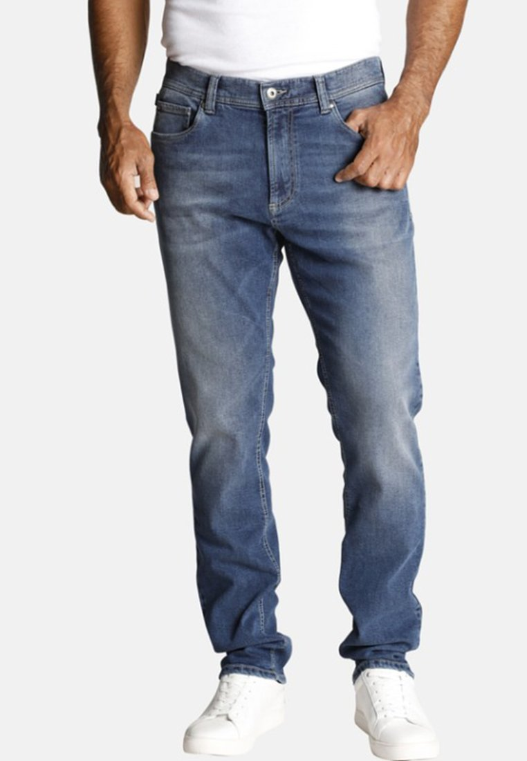 Jan Vanderstorm - Jeans Tapered Fit - blue