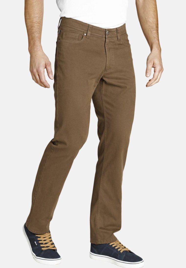 Jan Vanderstorm - BALDER - Straight leg jeans - brown