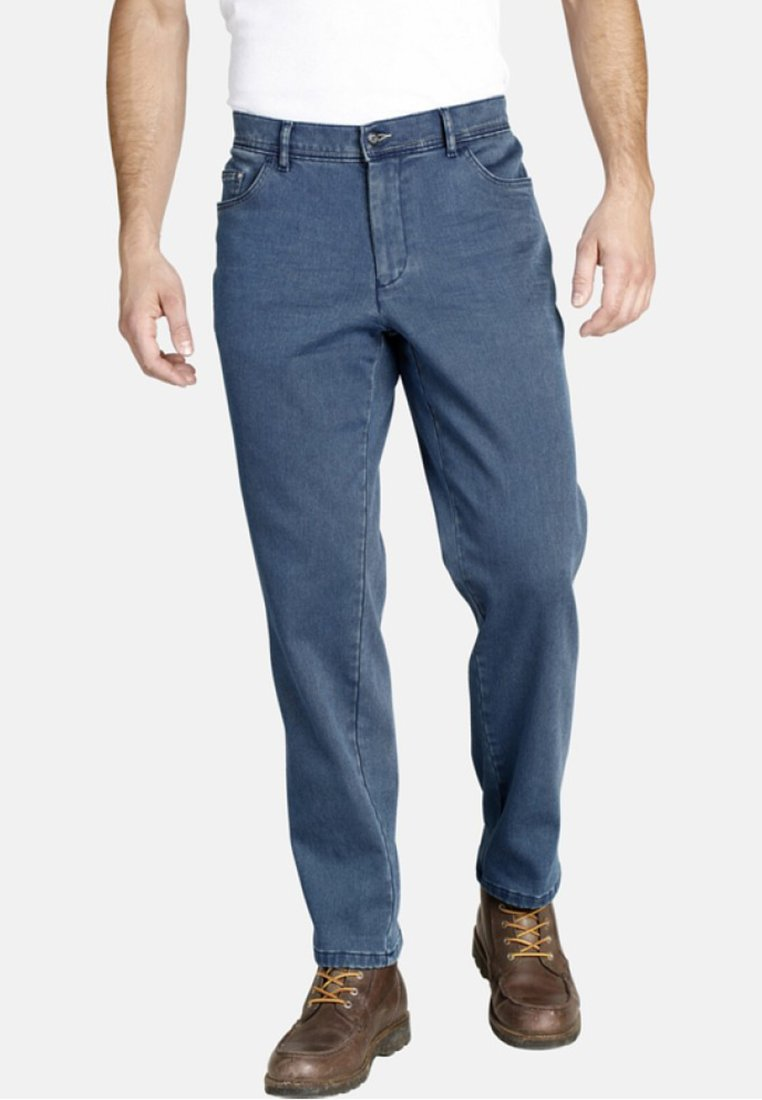 Jan Vanderstorm - OLEN - Straight leg jeans - blue