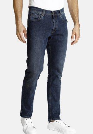 LEIF - Straight leg jeans - dark blue
