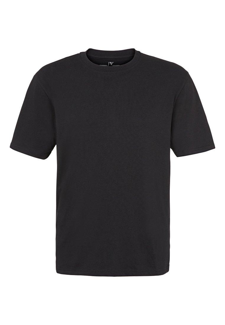Jan Vanderstorm Basique shirt Black DoppelpackT X0Pkn8wO