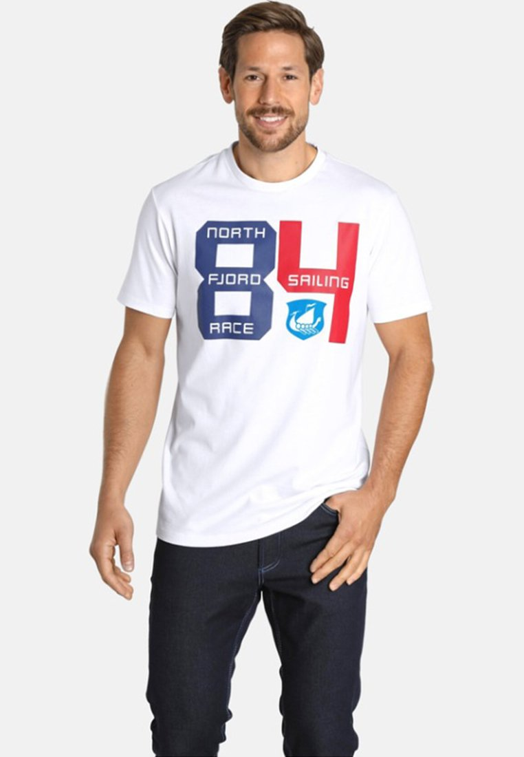Jan Vanderstorm - Print T-shirt - white