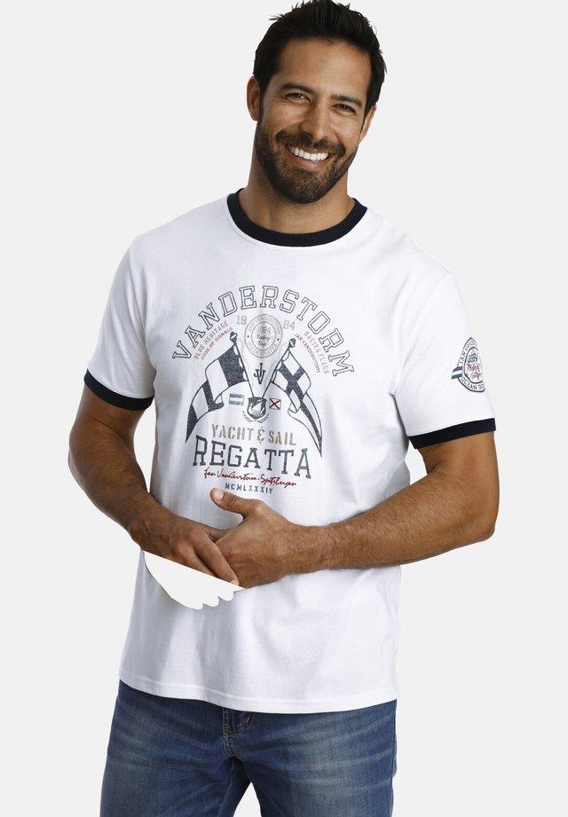 RAEL - T-shirt print - white