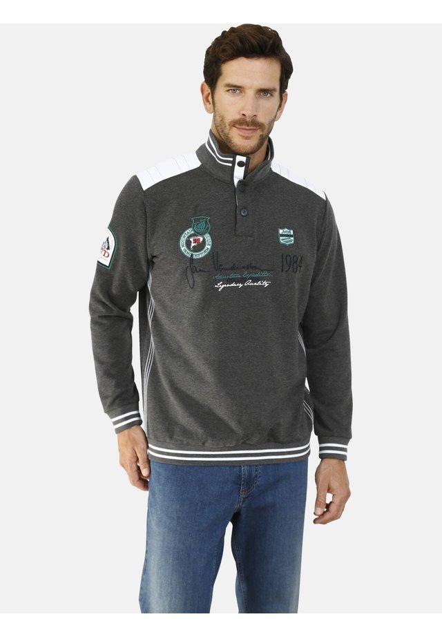 MILE - Sweatshirt - dunkelgrau melange