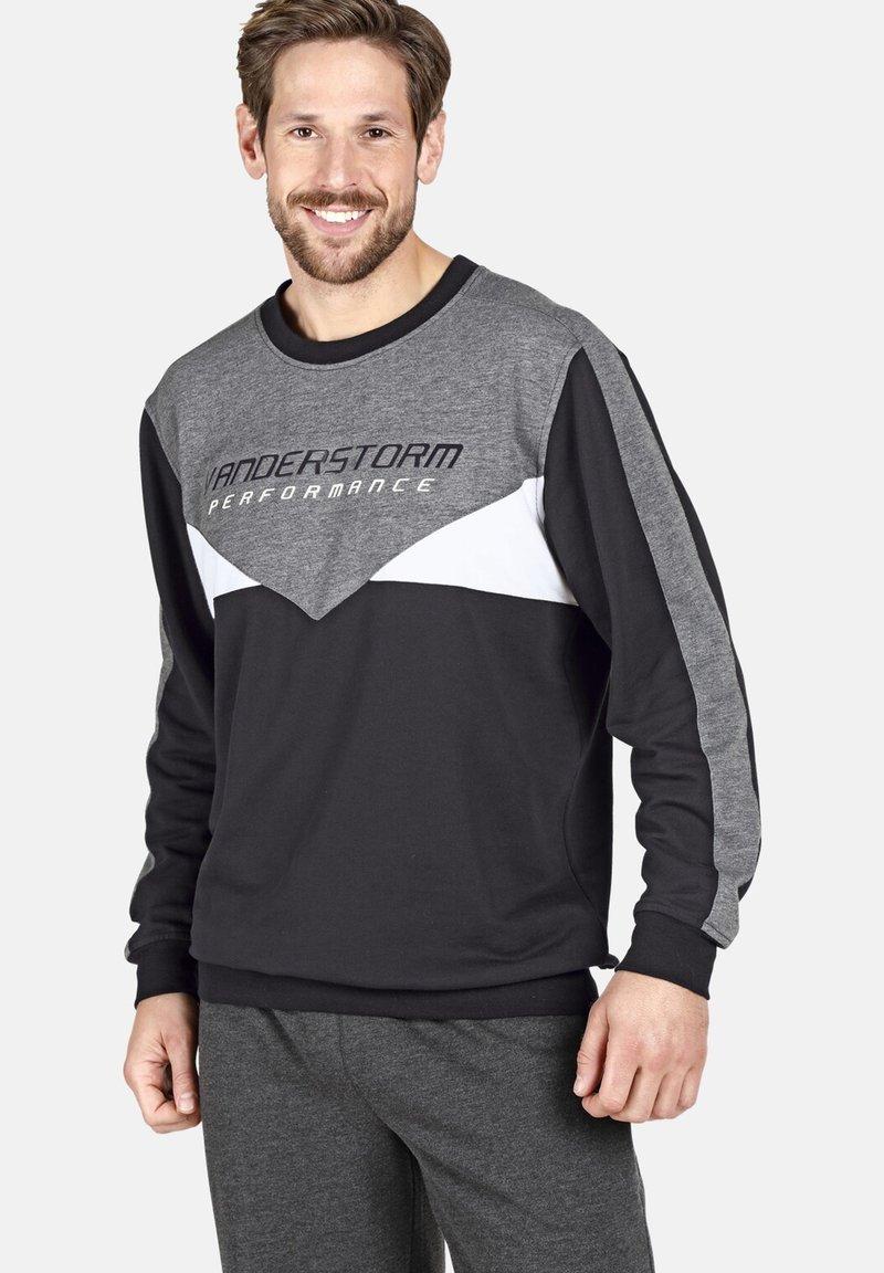 Jan Vanderstorm - VEMUND - Sweatshirt - black