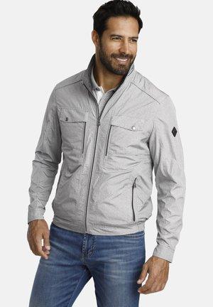 Light jacket - light gray melange