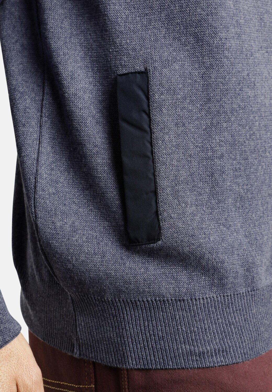 Jan Vanderstorm veste en sweat zippée - blau