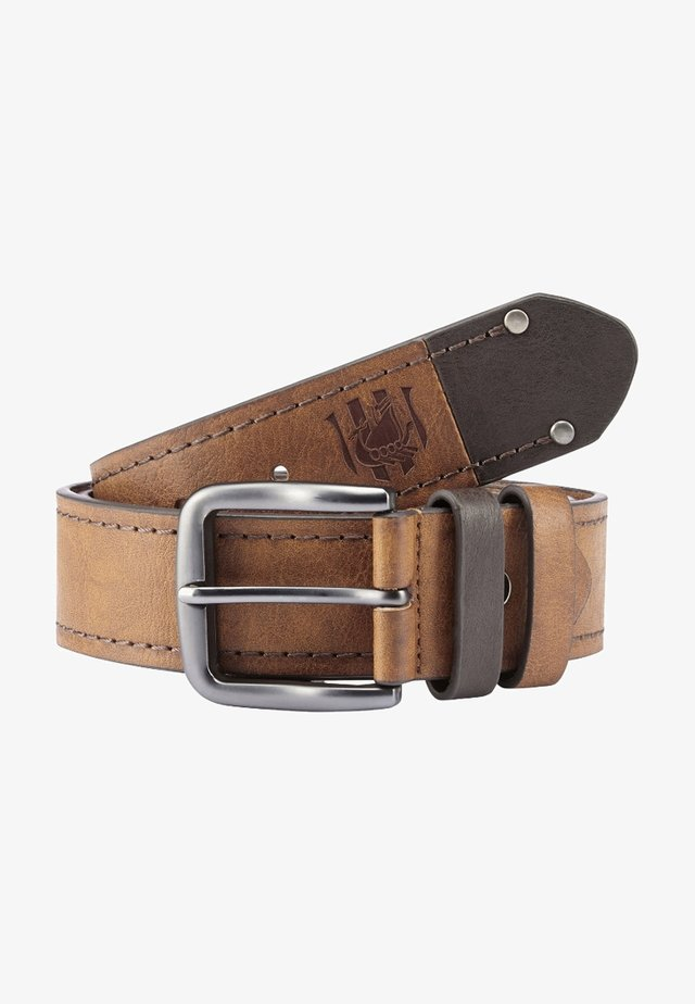 BORAK - Belt - light brown