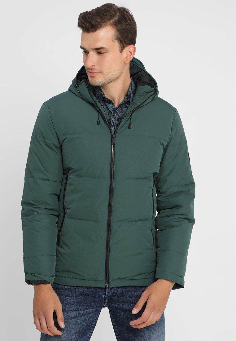 Jack Wills - EMBLETON PUFFER - Down jacket - dark green