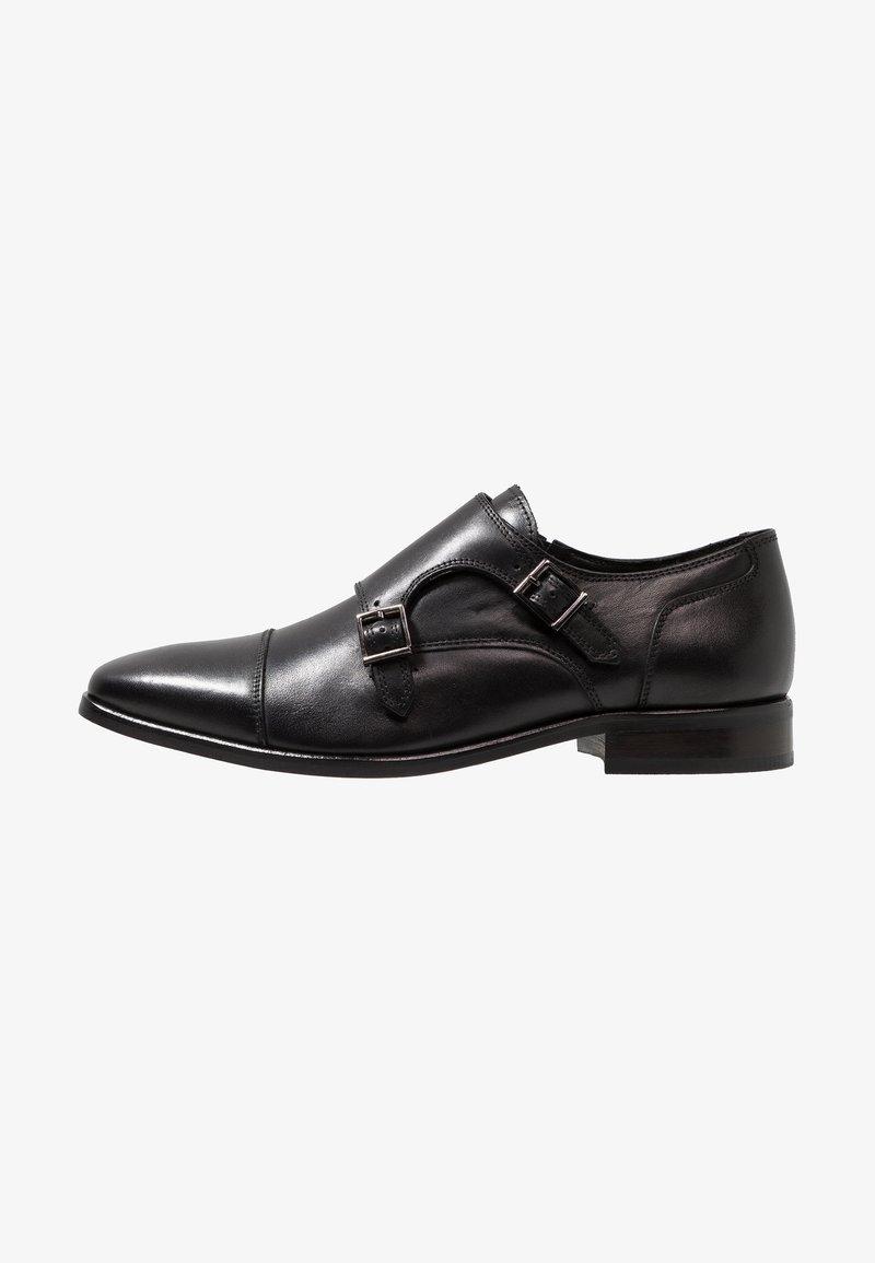 Jacamo - DOUBLE MONK SHOE - Business-Slipper - black