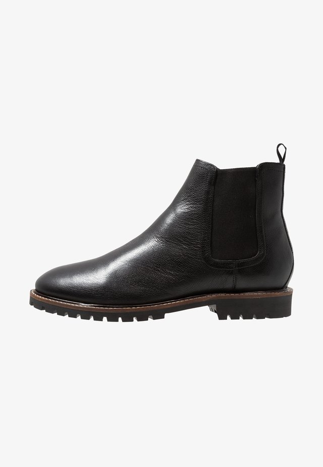 CHELSEA BOOT EXTRA WIDE FIT - Classic ankle boots - black