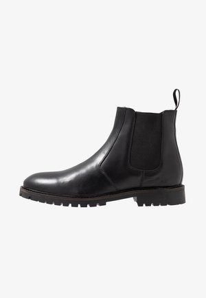 CHELSEA BOOT WITH INSIED ZIP - Classic ankle boots - black