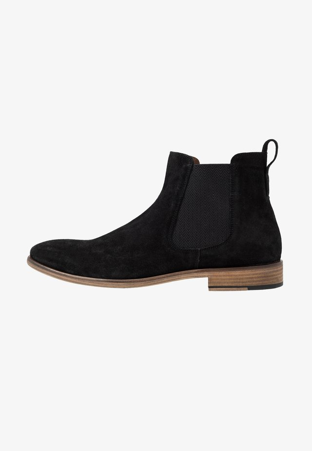 REAL CHELSEA BOOT - Korte laarzen - black