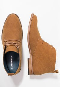 JDWILLIAMS - CHUKKA BOOT - Sporty snøresko - tan - 1
