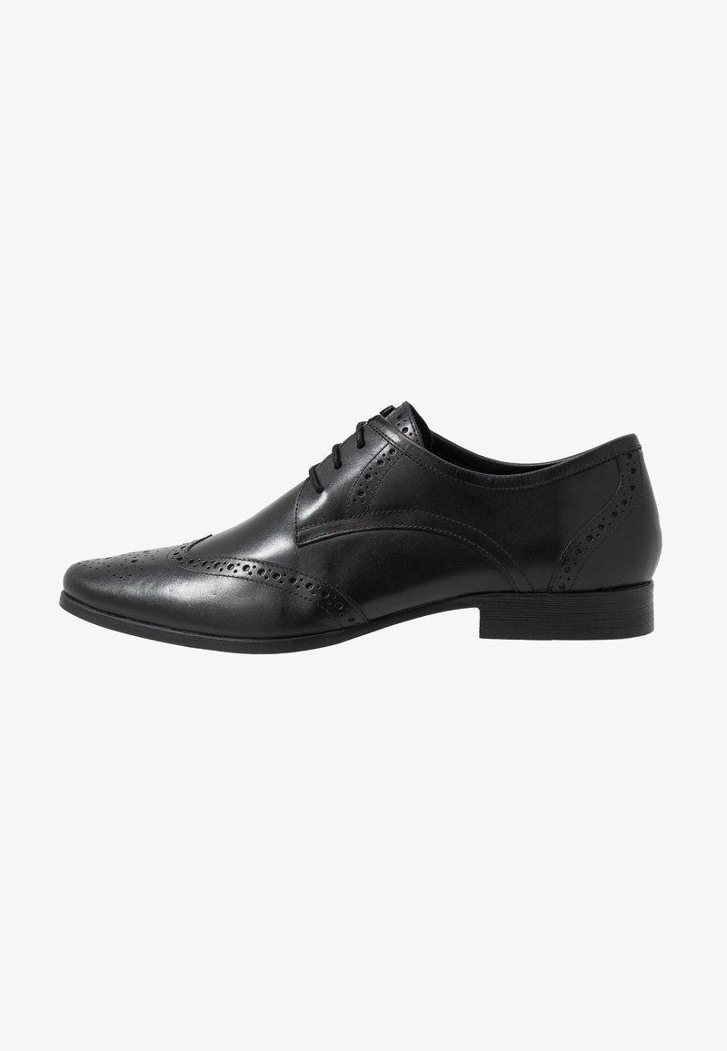 Jacamo - FORMAL BROGUE - Business sko - black