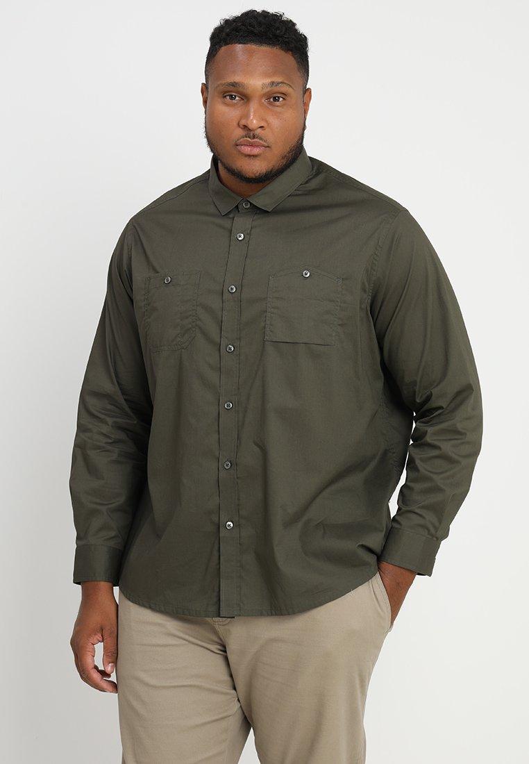 Jacamo - MILITARY REGULAR FIT PLUS - Shirt - khaki