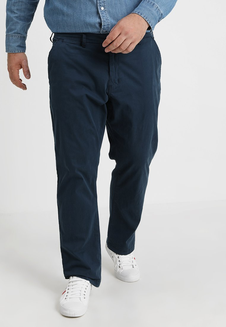 Jacamo - JACAMO BASIC STRETCH PLUS - Chino - navy