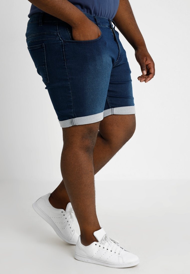 Jacamo - LOOPBACK PLUS - Shorts - blue denim