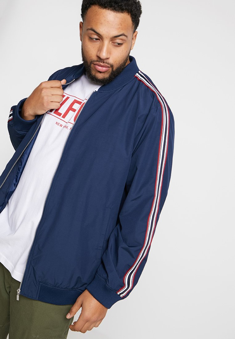 Jacamo - TAPE SLEEVEJACKET LONG - Tunn jacka - navy