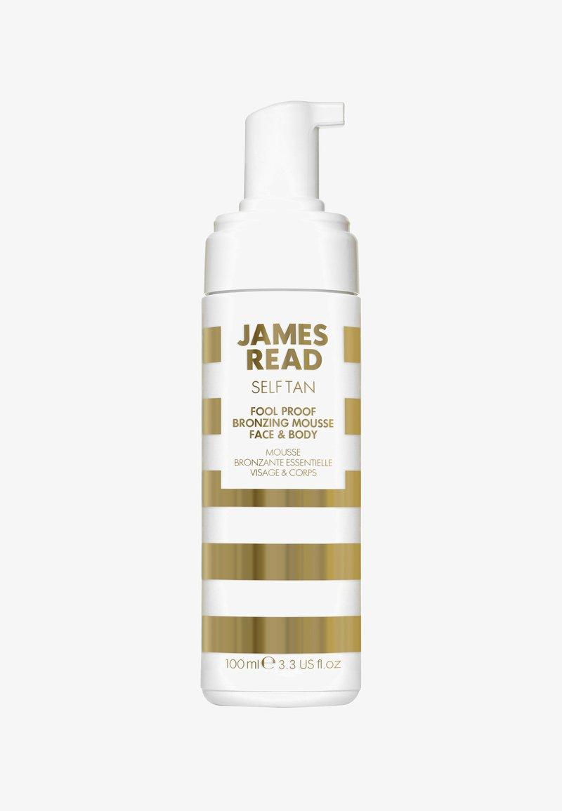 James Read - FOOL-PROOF BRONZING MOUSSE FACE & BODY 100ML - Selvbruner - -