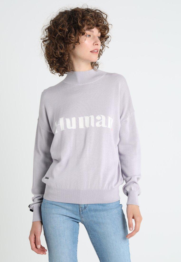 Jakke - FREE FROM INTARSIA HUMAN - Jumper - lilac