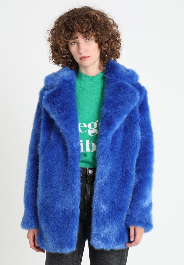 Jakke - HEATHER SLOGAN LUXE FAUX  - Winterjacke - cobolt blue