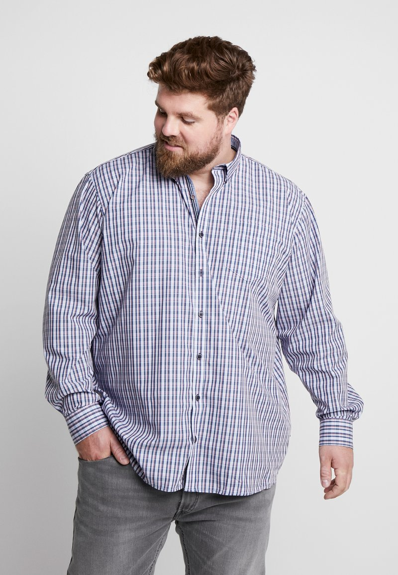 Jack´s Sportswear - COMFORT FIT BLEND SHORT BOX - Camisa - blue
