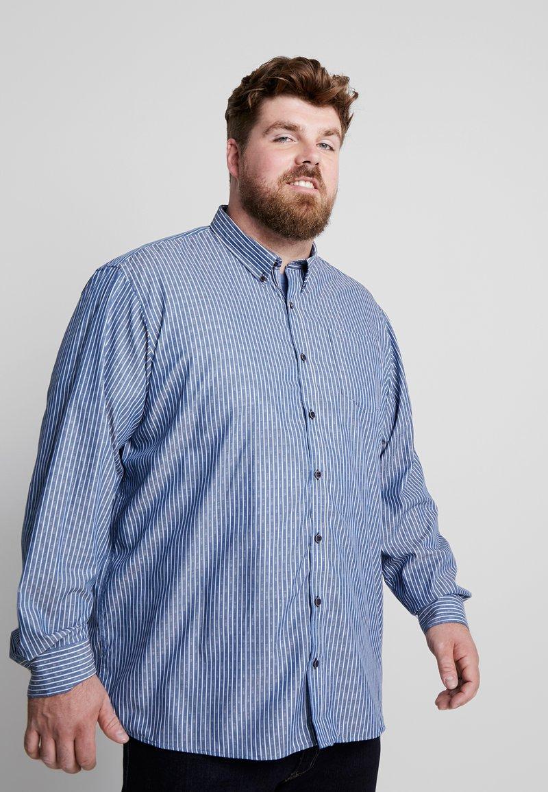 Jack´s Sportswear - COMFORT FIT BLEND SHORT BOX - Chemise - blue