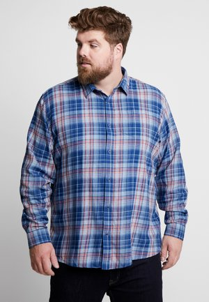 CHECKED WASHED - Košile - blue check