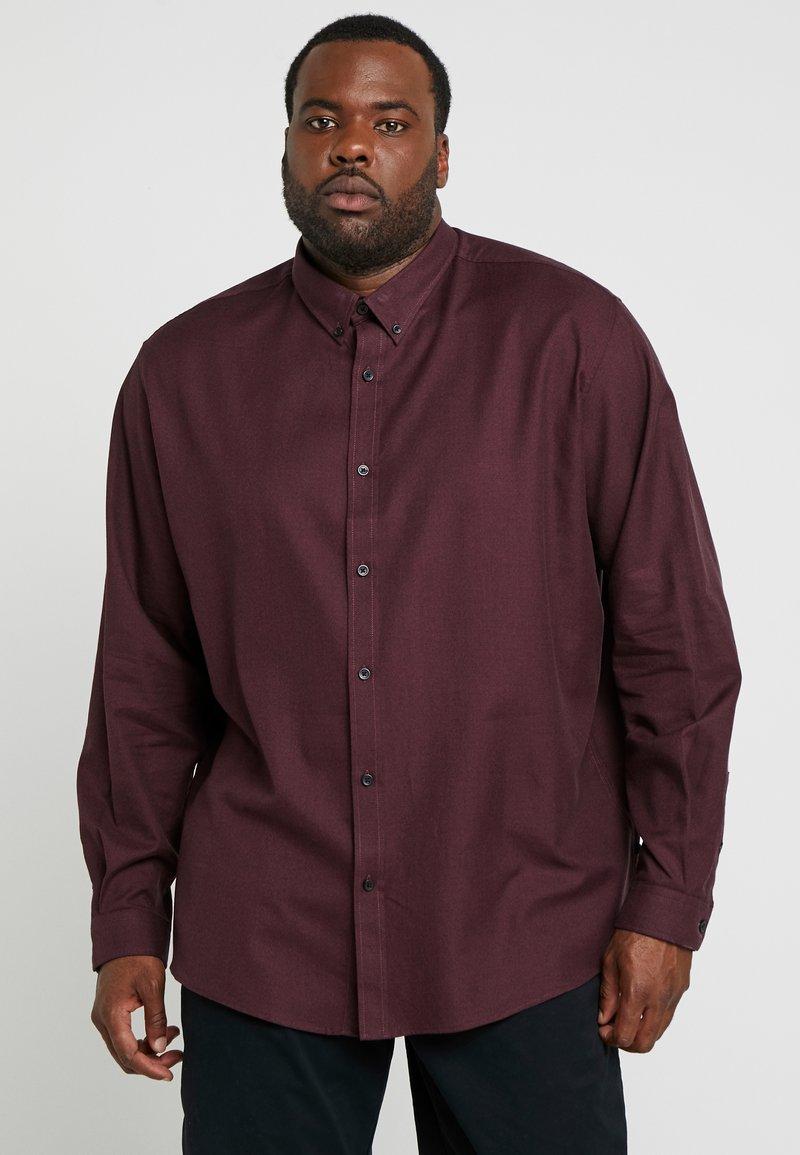 Jack´s Sportswear - MOULINÉ - Hemd - bordeaux