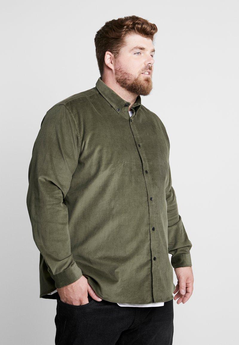 Jack´s Sportswear - CORDUROY  - Shirt - army