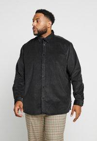 Jack´s Sportswear - CORDUROY  - Košile - black - 0