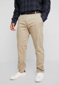 Jack´s Sportswear - STRETCH WITH BELT - Chinot - sand - 0