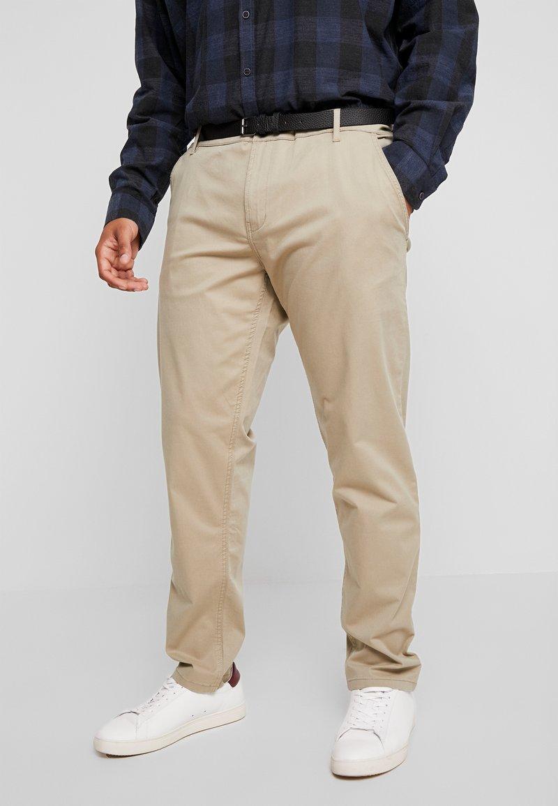 Jack´s Sportswear - STRETCH WITH BELT - Chinot - sand