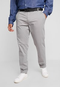 Jack´s Sportswear - STRETCH WITH BELT - Chinos - grey - 0